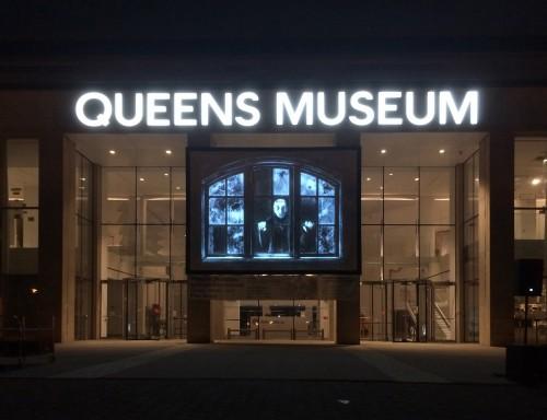 NYsferatu - Symphony of a Century - animazione durata 66 minuti - 2017 - veduta della proiezione al Queens Museum New York