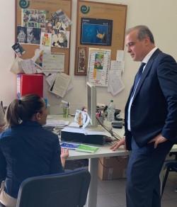 Visita al CPI di Prato del Presidente di Anpal Mimmo Parisi
