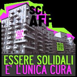 Uno slogan pubblicato sul blog Sciopero degli affitti