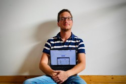 Matteo Cuturello, 27 anni, fondatore di Caatalog