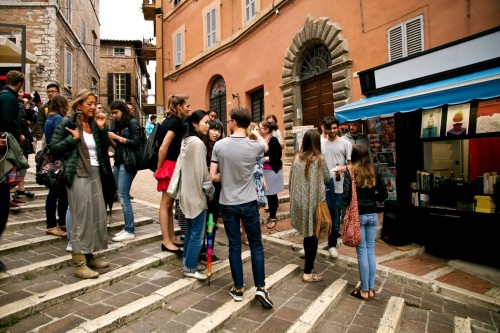 La foto dell'edicola - tratta da Italia che cambia