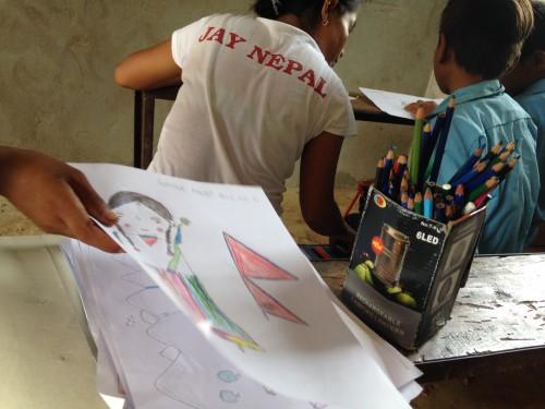 Disegno e tshirt JayNepal