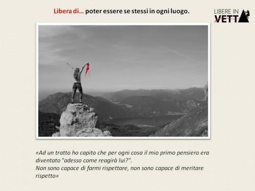 Foto 1 per essrere se stesse in ogni luogo autore 'Progetto Libereinvetta'
