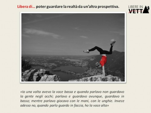 foto 2 Poter guardare . altra prospettiva autore 'progetto libereinvetta'