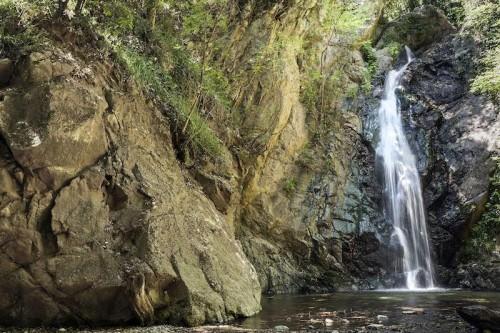 """The """"Sila Piccola"""" southern escarpment. Cascata - waterfall - del Campanaro. June, Parco Nazionale della Sila, Calabria, Italy"""