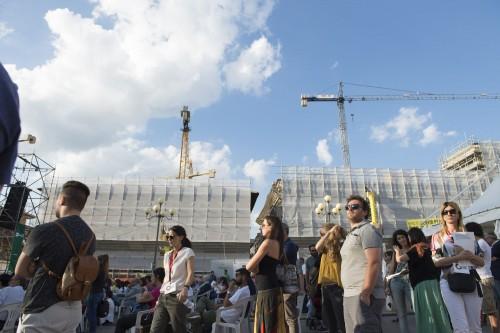 L'Aquila 7/7/2016 Inaugurazione della festa della partecipazione