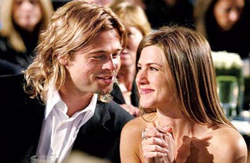 Brad Pitt (52 anni) e Jennifer Aniston (47) quando erano marito e moglie