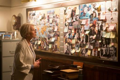Helen Mirren nei panni del colonnello dell'esercito britannico Katherine Powell in Il diritto di uccidere - Eye in the Sky (2015) di Gavin Hood