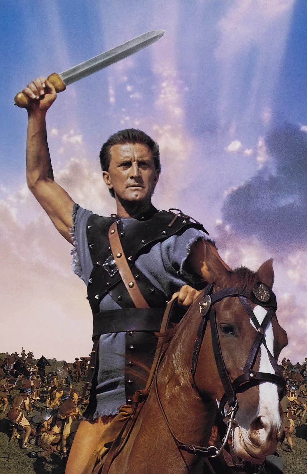 Spartacus è un film del 1960 diretto da Stanley Kubrick, tratto dall'omonimo romanzo di Howard Fast. Narra la vita dello schiavo che sfidò la Repubblica romana: il gladiatore trace Spartaco