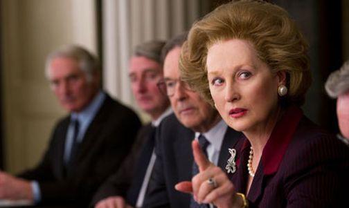 Meryl Streep nei panni di Margaret Thatcher che le sono valsi l'Oscar per The Iron Lady (2011) di Phyllida Lloyd