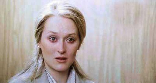 Meryl Streep a 30 anni, in Kramer contro Kramer (1979) di Robert Benton: conquistò l'Oscar alla migliore attrice non protagonista
