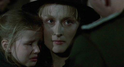 Meryl Streep a 33 anni protagonista di La scelta di Sophie (1982) di Alan J. Pakula, suo primo Oscar da protagonista