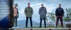 RENTON (Ewan McGregor), SPUD (Ewen Bremner), SICK BOY (Jonny Lee Miller) BEGBIE (Robert Carlyle)