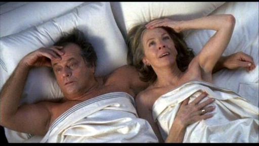 Jack Nicholson con Diane Keaton in Tutto può succedere (2003) di Nancy Meyers