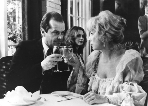 Jack Nicholson con Shirley MacLaine in Voglia di tenerezza (1983) di James L. Brooks
