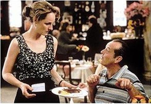 Jack Nicholson con Helen Hunt in Qualcosa è cambiato (1997) di Jemes L. Brooks