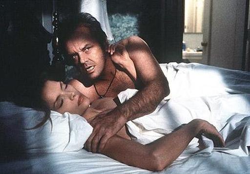 Jack Nicholson con Michelle Pfeiffer in Wolf - La belva è fuori (1994) di Mike Nichols