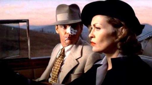 Jack Nicholson con Faye Dunaway in Chinatown (1974) di John Huston