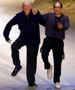 Adriano Celentano e Dario Fo