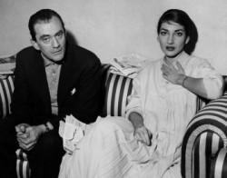 Luchino con Maria Callas
