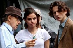 Woody Allen, Selena Gomez, Timothée Chalamet