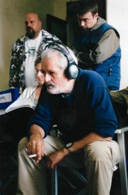 Francesco Barilli sul set