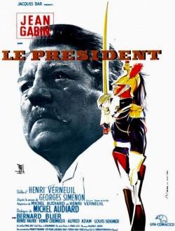 Sopra, la copertina del libro di Simenon. Sotto, la locandina del film di Henri Verneuil