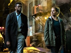 Chadwick Boseman and Sienna Miller star in 21 Bridges