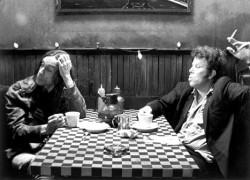 Iggy Pop e Tom Waits nel film