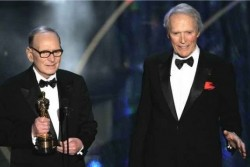 Con Clint Eastwood All'Oscar