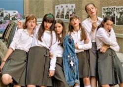 las ninas schoolgirls