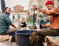 """Paolo Pierobon, Andrea Pennacchi e Roberto Citran: i fratelli di """"Welcome Venice"""""""