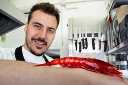 ritratto chef Joseph Micieli - Scjabica - cuoco pescatore