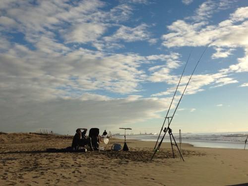 La spiaggia del Calambrone tra Pisa e Livorno