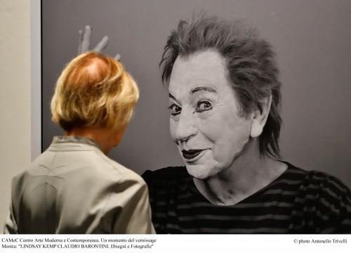 MOSTRA: Lindsay Kemp Claudio Barontini Disegni e fotografie CAMeC Centro Arte Moderna e Contemporanea La Spezia 26 ottobre 2018 – 6 gennaio 2019