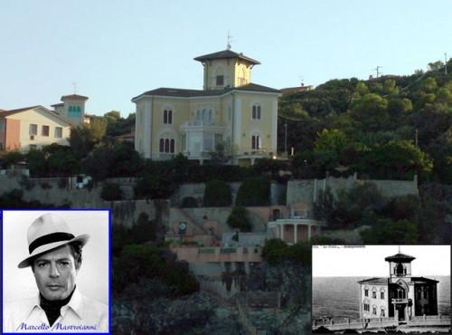 Mastroianni e la sua ex villa da Lungomarecastiglioncello