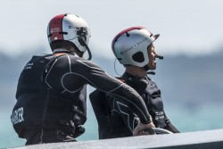 23/05/2017 - Royal Naval Dockyard (BDA) - 35th America's Cup Bermuda 2017 - Last training week for the 35th America's Cup