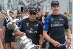 26/06/2017 - Bermuda (BDA) - 35th America's Cup 2017 - 35th America's Cup 2017 Presented by Louis Vuitton, Day 5 - Emirates Team New Zealand wins the America's Cup