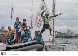 2017 Optimist Worlds, Thailand © Matias Capizzano