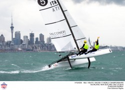 49er, 49erFX, Nacra 17 World Championships, Auckland 2019 © Pedro Martinez / Sailing Energy 08 December, 2019.
