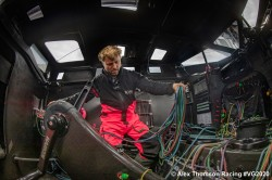 Alex Thomson su Hugo Boss