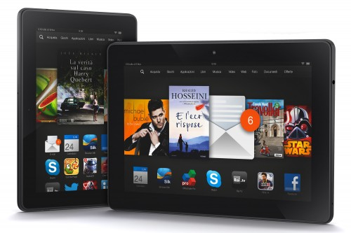 "Kindle Fire Hdx 7"" e 8.9"""