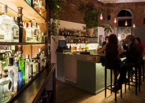 The Botanical Club - cocktail bar 2