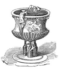 La zuppiera a forma di mitra