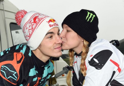 Maverik Vinales e Kiara Fontanesi, i fidanzati delle due ruote (Bozzani)