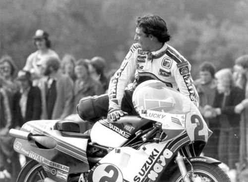 Marco Lucchinelli, campione mondiale con la Suzuki nel 1981