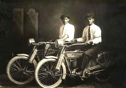 William Harley e Arthur Davidson