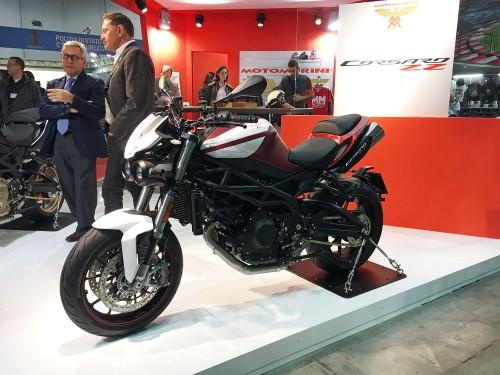 Moto Morini Corsaro l'avanguardia del taylor made