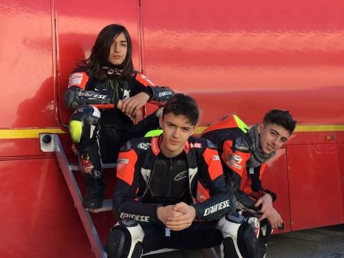 Da sinistra Bartolini, Rossi e Bartalesi(C)RMU