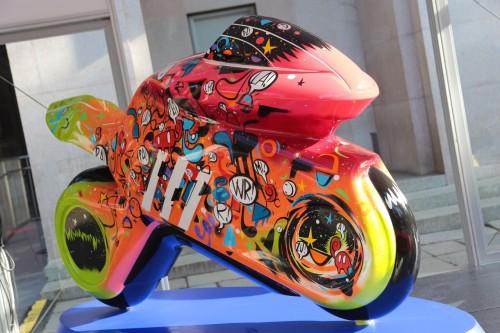 Una delle 12 opere realizzate dagli artisti e presentate alla Triennale di Milano